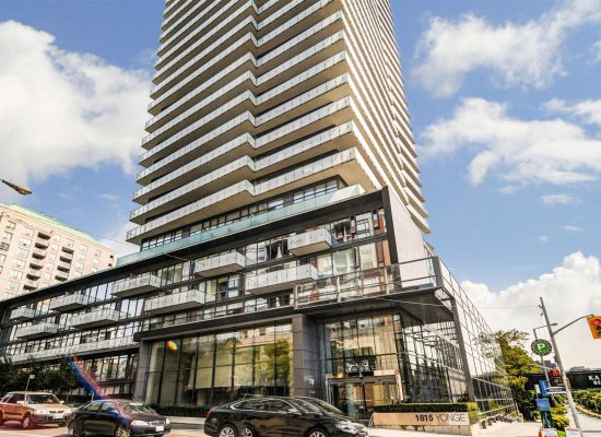 1815 Yonge St. 1 Bedroom, Midtown Toronto